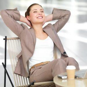Alpha Gehirwellen, um entspannen und effektiv arbeiten zu können