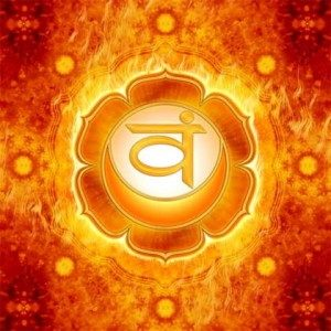 Chakra 2, das Sakralchakra oder Sexchakra, für sexuelle und emotionale Gesundheit